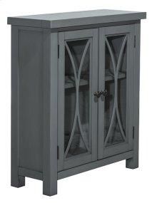 Bayside 2 Door Cabinet - Robin's Egg Blue