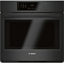 Single Wall Oven 30'' Black