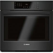 Single Wall Oven 30'' Black