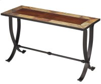 King's Cross Rectangular Console Table Product Image