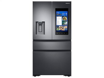 22 cu. ft. Capacity Counter Depth 4-Door French Door Refrigerator with Family Hub Recessed Handles (2017) Product Image