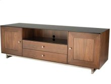 """AV Stand For TVs up to 80"""" and 150 lbs / 68 kg - Natural Walnut"""