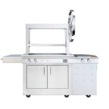 K750GS Gaucho Wood-fired Freestanding Grill with Side Burner