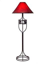 Iron Floor Lamp No Shade Product Image