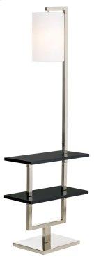 Avenue Double Shelf Downbridge Floor Lamp Product Image