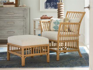 Clearwater Lounge Chair and Ottoman Combo
