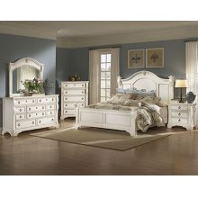 Heirloom White Entertainment Furniture
