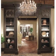 Doorway with Bookcases - 36""