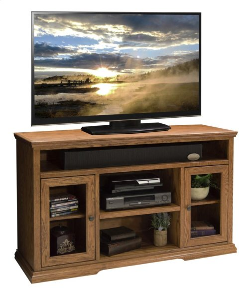 "Colonial Place 54"" Tall TV Cart"