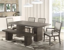 "Mila Bench Base 18""H (1 SET PEDESTAL BASE PER BOX)"