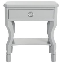 Alaia One Drawer Night Stand - Grey