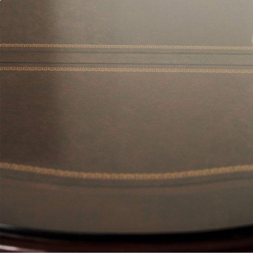 Desk W/glass Top