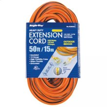 14/3 50 ft. Lighted End Extension Cord