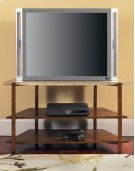 "Tivoli Faux Marble Top TV Stand 46"" x 21"" x 26"" Product Image"