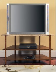 "Tivoli Faux Marble Top TV Stand 46"" x 21"" x 26"""