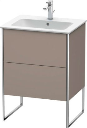 Vanity Unit Floorstanding, Basalt Matt (decor)