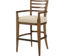 Ladder Back Bar Stool-KD