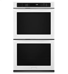 27-Inch Convection Double Wall Oven, Architect® Series II - White