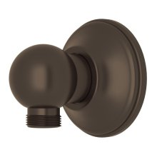 Tuscan Brass Handshower Wall Outlet