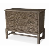Madera Filigree Drawer Chest Product Image