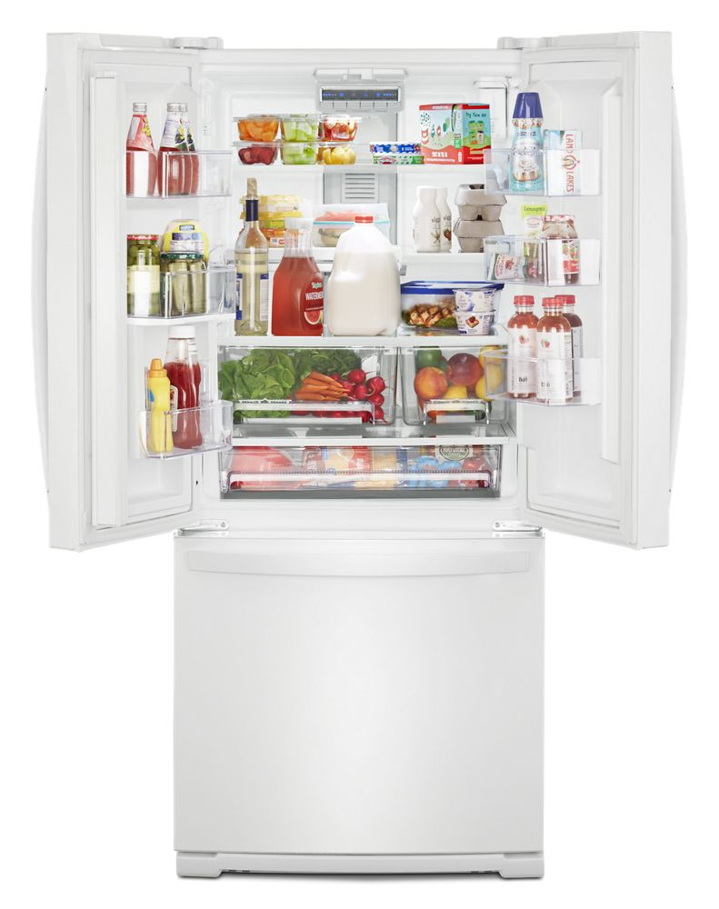 Wrf560smhw Whirlpool 30 Inch Wide French Door Refrigerator