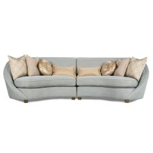 Aqua 2PCS Sectional