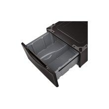 Laundry Pedestal - Black Steel