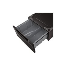 Laundry Pedestal - Black Steel