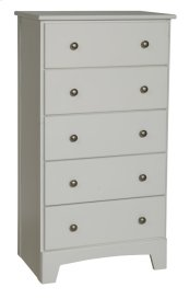 "Dover 5 Drawer Chest 25"" Wide"