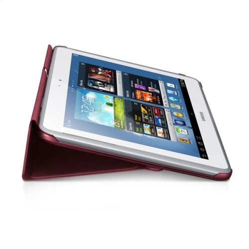 Galaxy Note 10.1 Magnetic Book Cover, Red