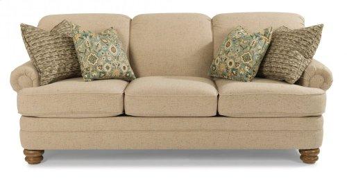 Bay Bridge Fabric Sofa without Nailhead Trim