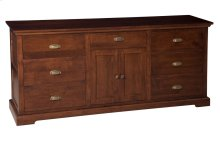 7 Drawer/2 Door Dresser