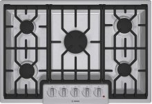 """30"""" Gas Cooktop 800 Series - Stainless Steel NGM8054UC"""