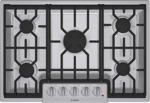 "30"" Gas Cooktop 800 Series - Stainless Steel NGM8054UC"