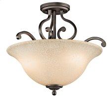 Camerena 3 Light Semi Flush Olde Bronze®