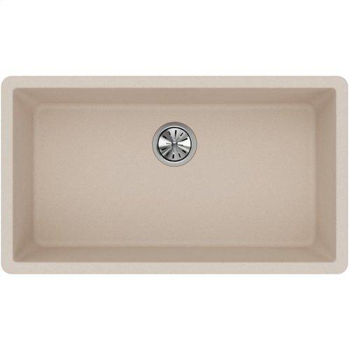 "Elkay Quartz Classic 33"" x 18-7/16"" x 9-7/16"", Single Bowl Undermount Sink, Putty"
