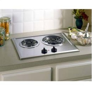 "21 1/4"" Built In Electric Cooktop"