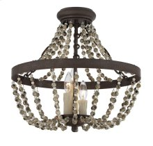 Mallory 3 Light Convertible Semi-Flush