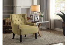 Accent Chair, Mustard