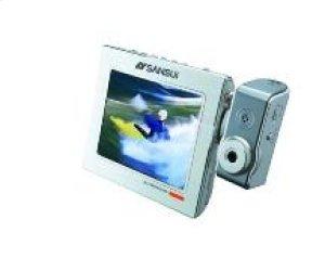 Portable Video (MP4) / Audio (MP3) / Digital Photo Player with FM Radio