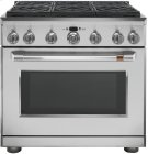 "Café 36"" Dual Fuel Professional Range with 6 Burners (Natural Gas) Product Image"