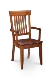 Garrett Arm Chair, Fabric Cushion Seat