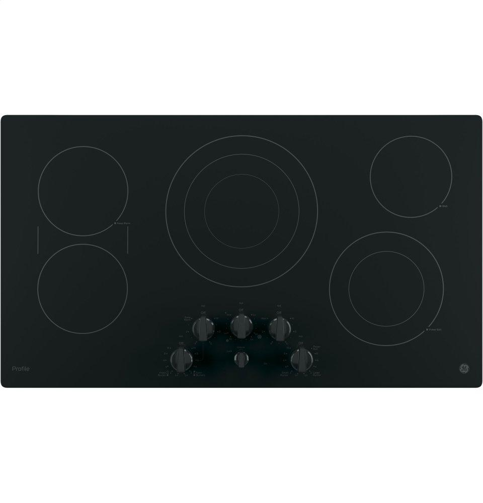 "GE Profile(TM) Series 36"" Built-In Knob Control Cooktop
