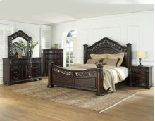"Monte Carlo Headboard Posts for Queen/King Bed, 8""x8""x61"""