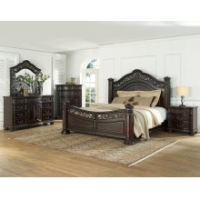 "Monte Carlo Queen Bed Footboard 70""x9""x36"""