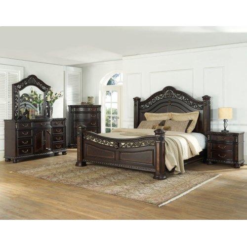 "Monte Carlo Queen Bed Footboard 70""x9""x36"""