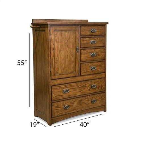 Bedroom - Oak Park Chest with Doors