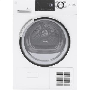 "GEGE(R) 4.0 cu.ft. Capacity 24"" Ventless Condenser Frontload Electric Dryer with Stainless Steel Basket"