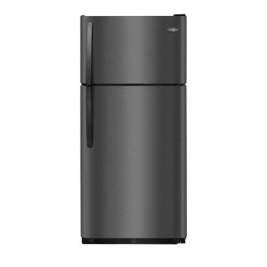 18 Cu. Ft. Top Freezer Refrigerator - BLACK STAINLESS STEEL
