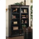 Rowan Traditional Black and Espresso Bookcase Product Image